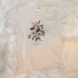 White Fawn Graphic Short Sleeve T-shirt S